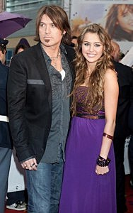 Billy Ray Cyrus and Daughter Miley Cyrus