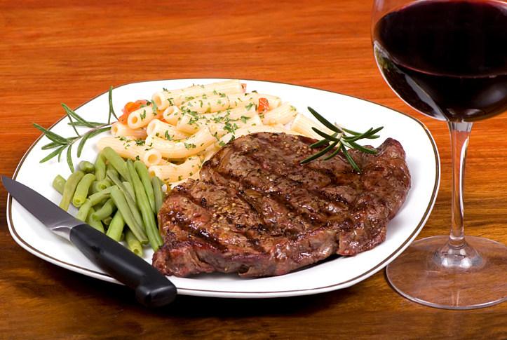 Rib Eye Steak Dinner 1