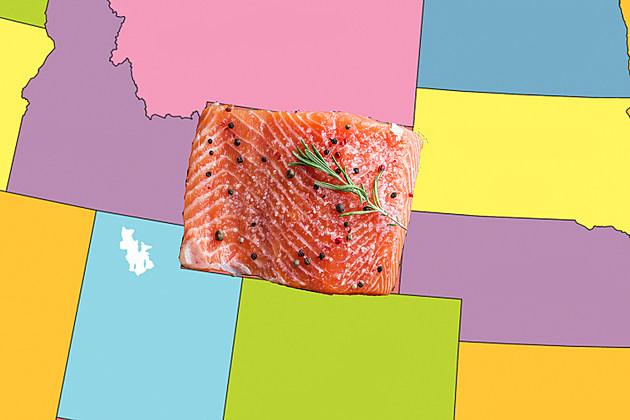 Wyoming Salmon Plank